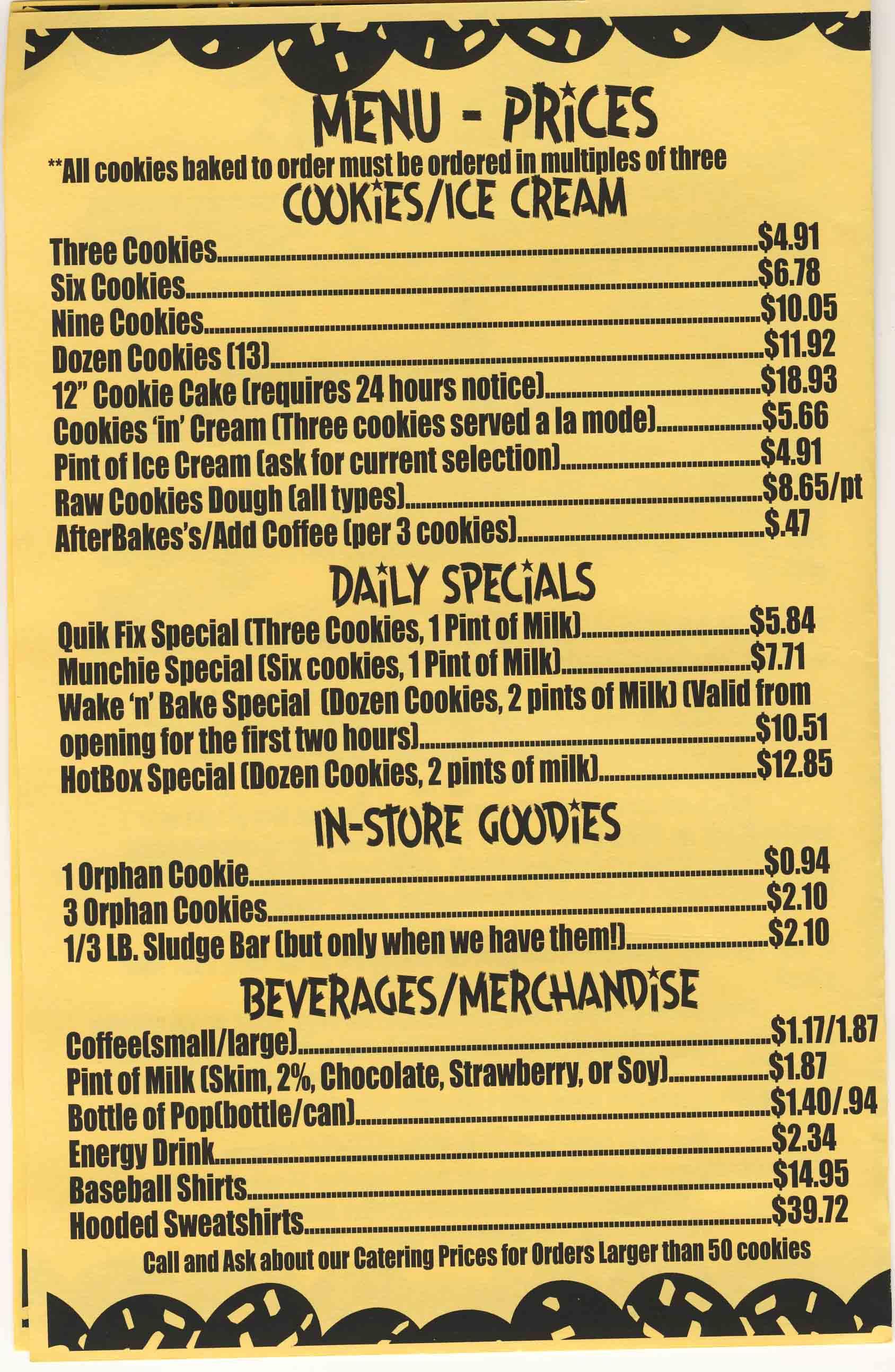 baked  bloomington  in menu  hours  details